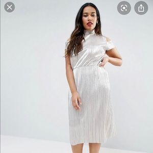 Asos Metallic Dress